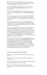 Piedad Rivera, Milán activa su vena empresarial