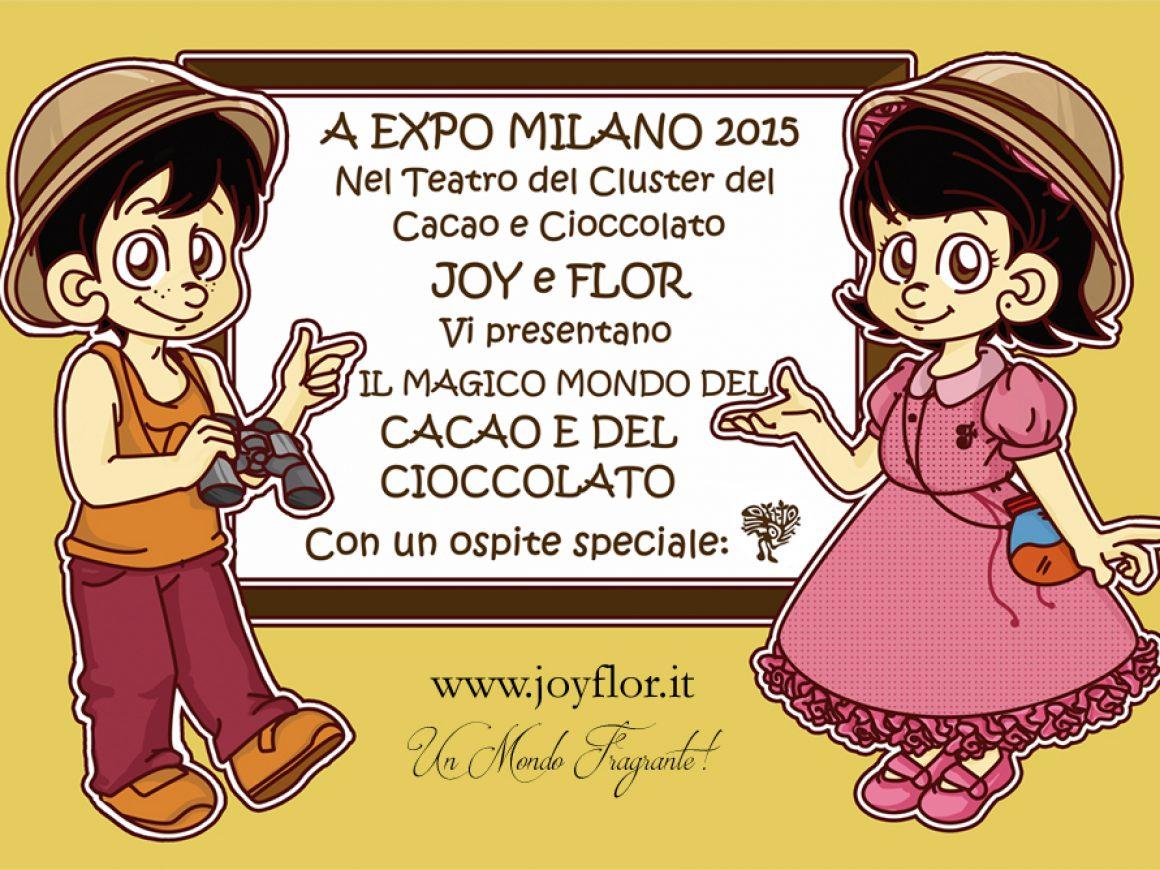 JOY E FLOR LAVAGNA IN EXPO
