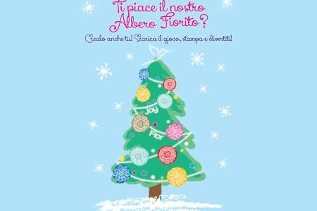 Crea il tuo Albero di Natale Fiorito!